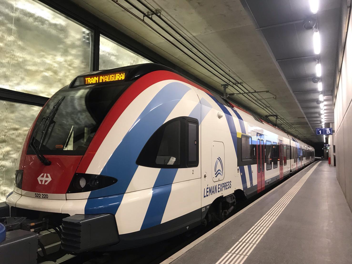 inauguration Léman Express